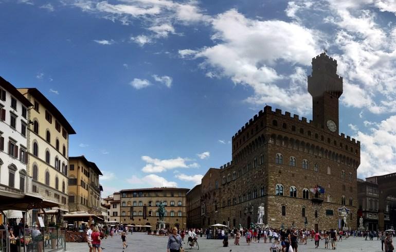 Piazza della Signoria. Florencia (Italia)