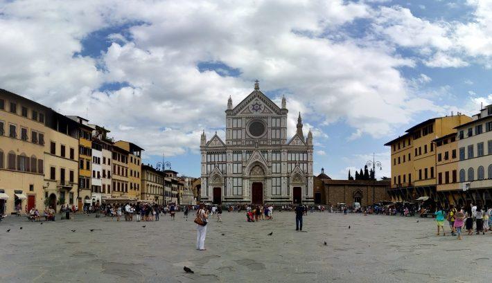 Basílica Santa Croce. Florencia (Italia)