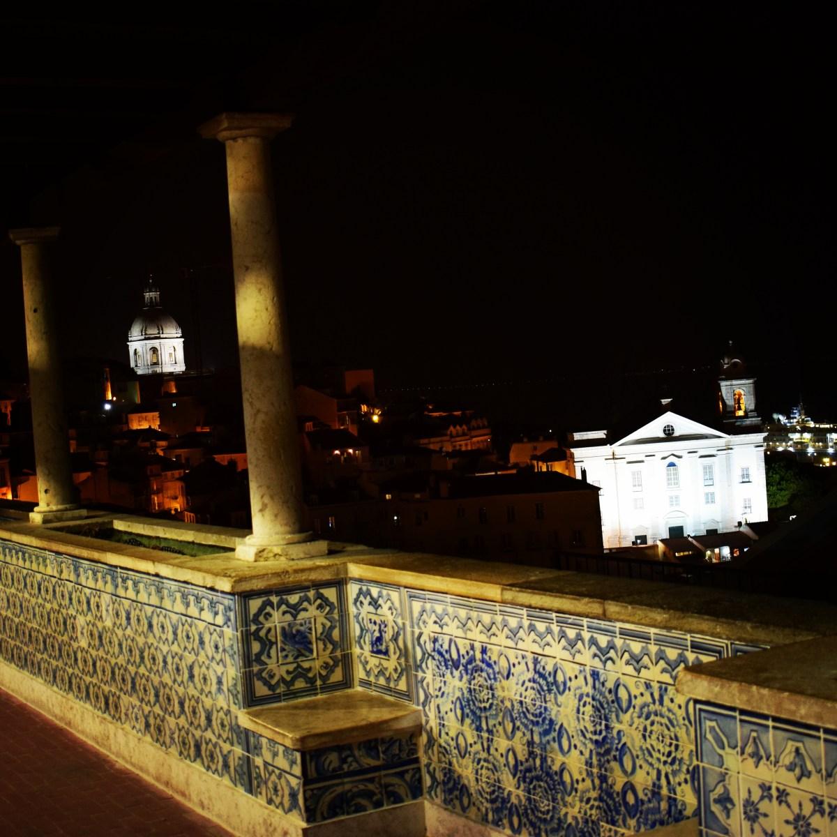 10 MIRADORES DE LISBOA (PORTUGAL)
