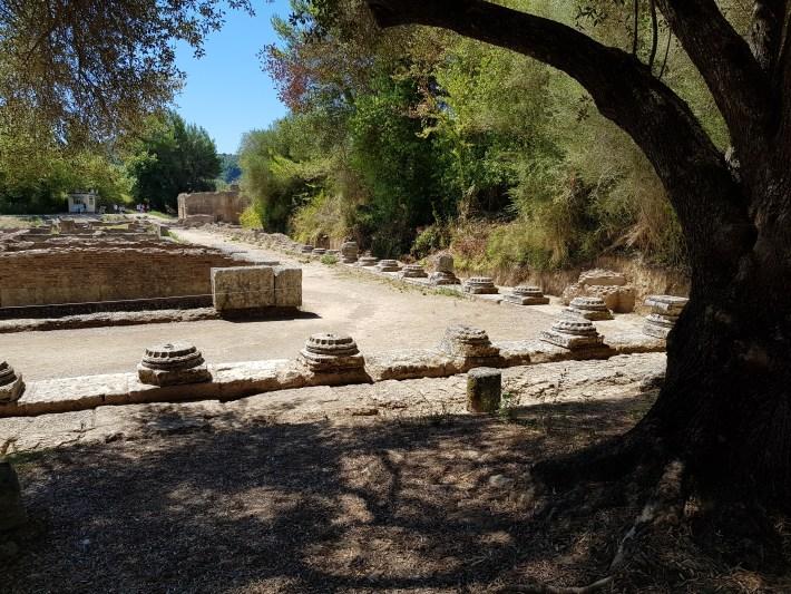 Leonidaion. Olimpia (Grecia)