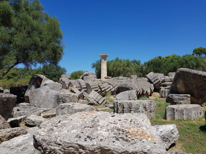 Templo de Zeus. Olimpia (Grecia)