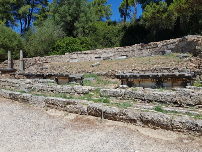 Los tesoros (The treasures). Olimpia (Grecia)