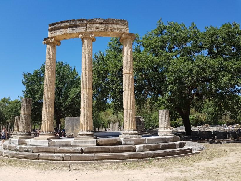 El Philippeion. Olimpia (Grecia)