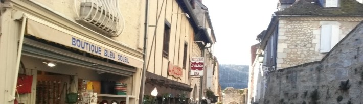 Grand Rue. Rocamadour (Francia)