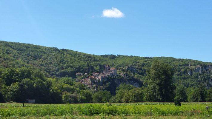 Saint Cirq Lapopie (Francia)