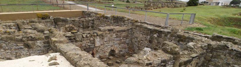 Baños romanos. Baleo Claudia, Tarifa (España)