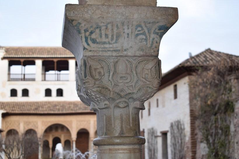 El Generalife, la Alhambra. Granada (España)