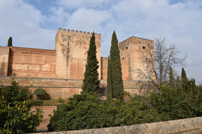 Alcazaba, la Alhambra. Granada (España)