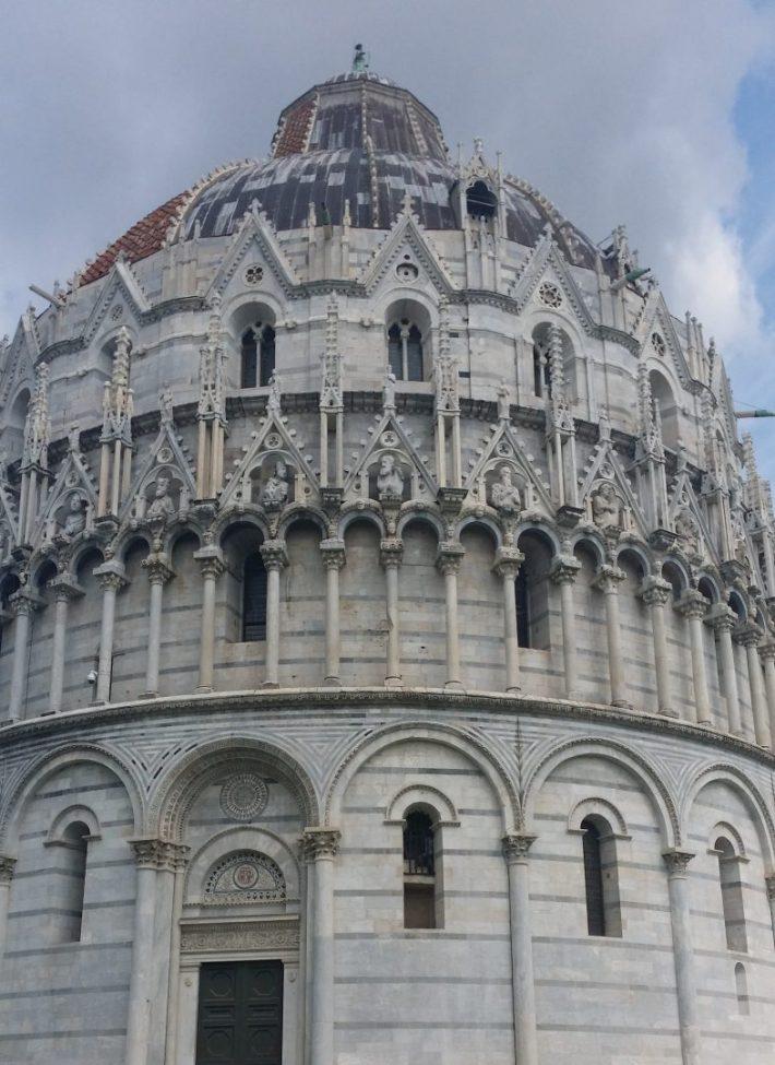 Baptisterio. Pisa (Italia)