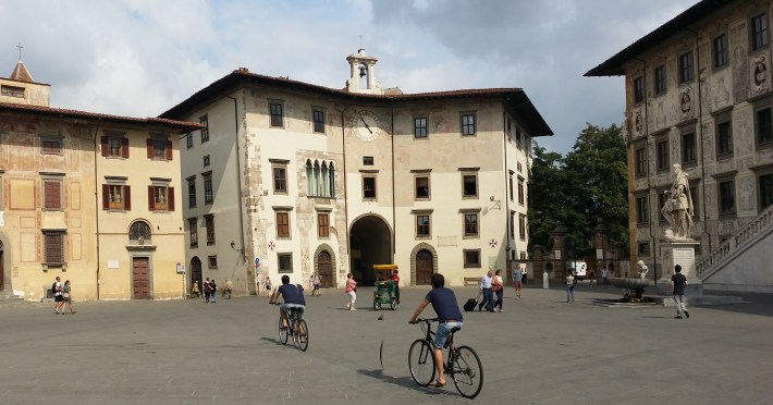 Piazza di Cavalieri. Pisa (Italia)