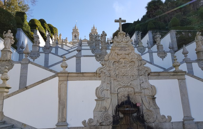 Escalinata Bom Jesús. Braga (Portugal)