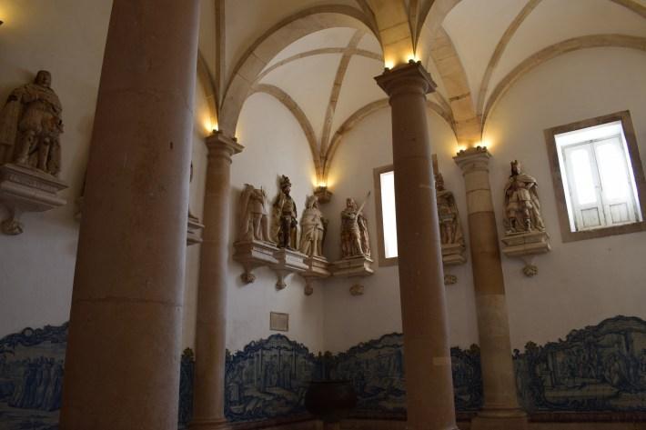 Sala dos Reis. Alcobaça (Portugal)