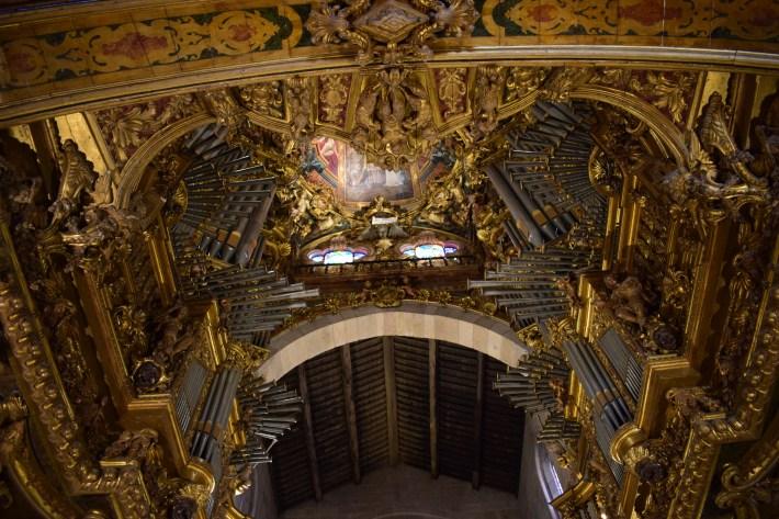 Órgano. Sé de Braga (Portugal)