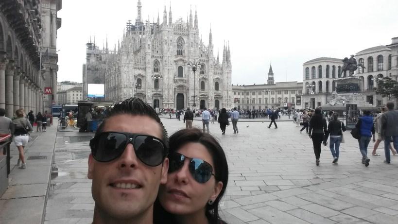 Piazza del Duomo. Milán (Italia).