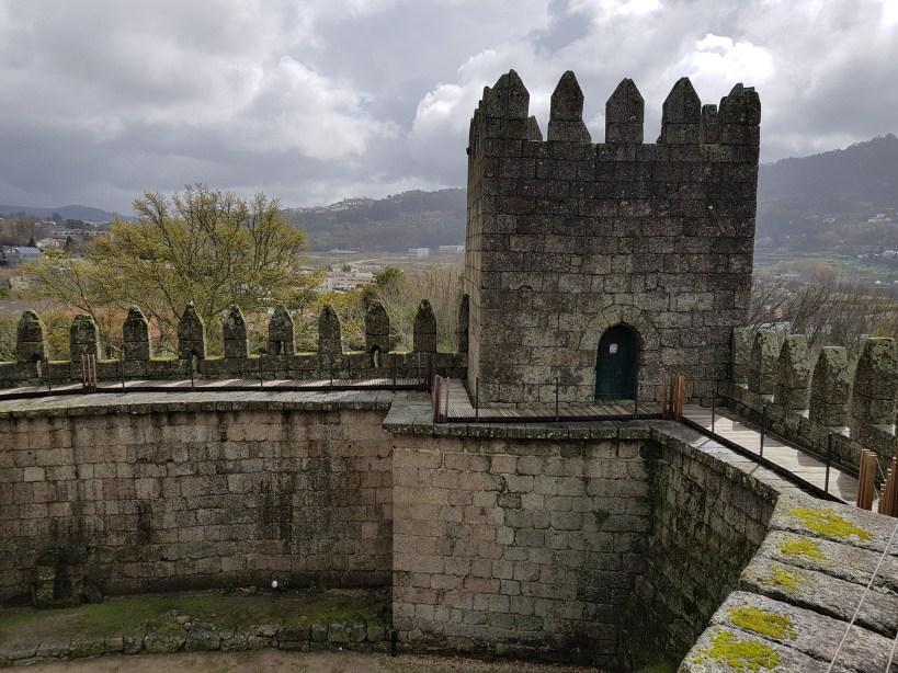 Castillo templario. Guimarães (Portugal)