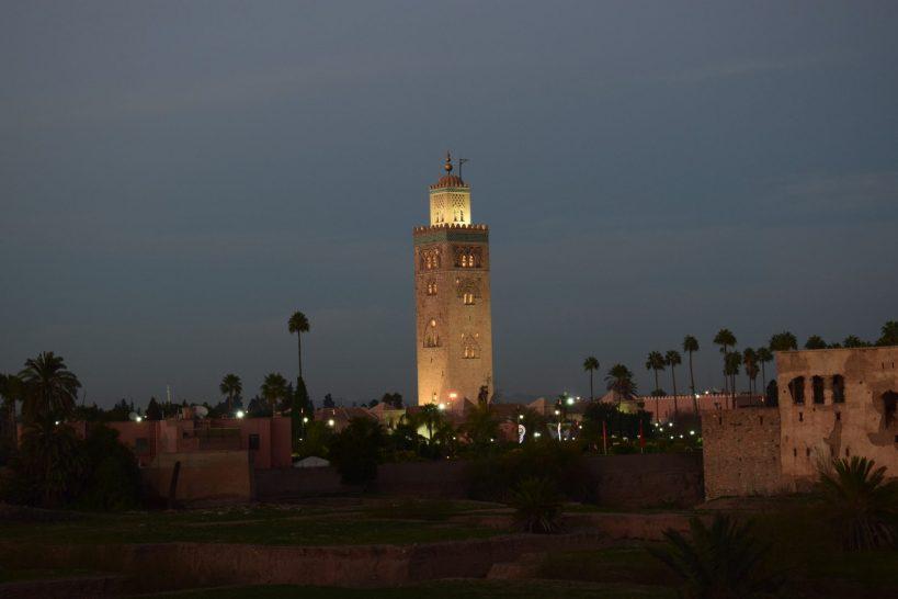Minarete de la Koutubia, Marrakech (Marruecos)