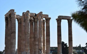 VIDEO: EL TEMPLO DE ZEUS OLÍMPICO, ATENAS (GRECIA)