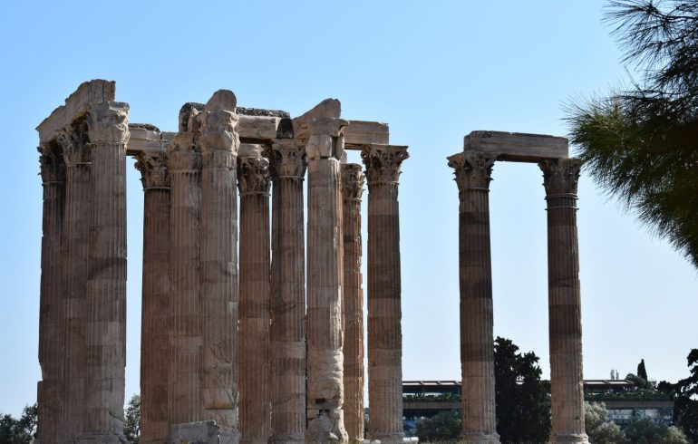 Templo de Zeus Olímpico, Atenas (Grecia)