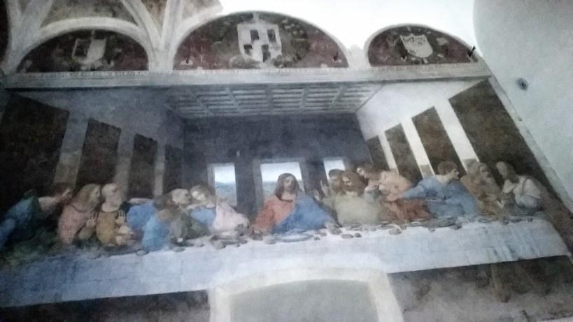 Cenacolo Vinciano (La ultima cena), Leonardo Da Vinci. Milán (Italia).