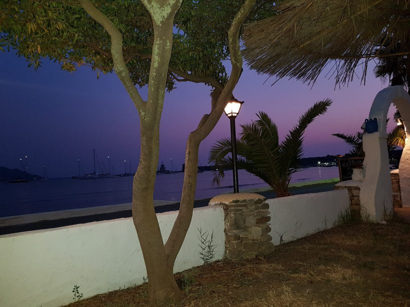Atardecer en Methoni (Grecia)