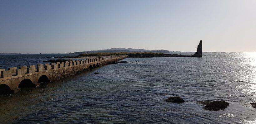 Isla de San Sadurniño, Cambados, Galicia (España)