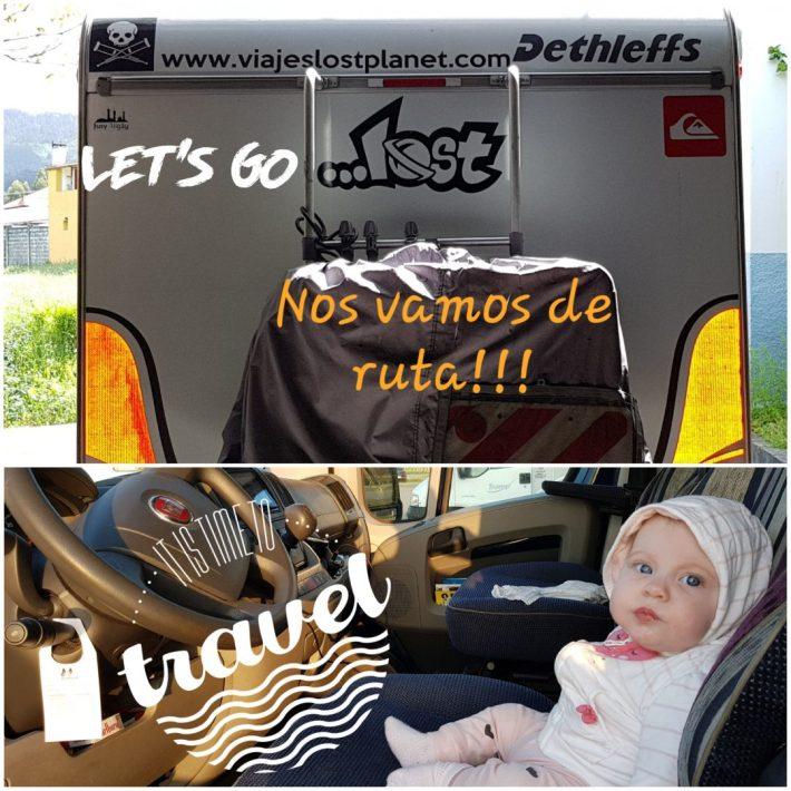 Nos vamos de ruta en autocaravana !!!