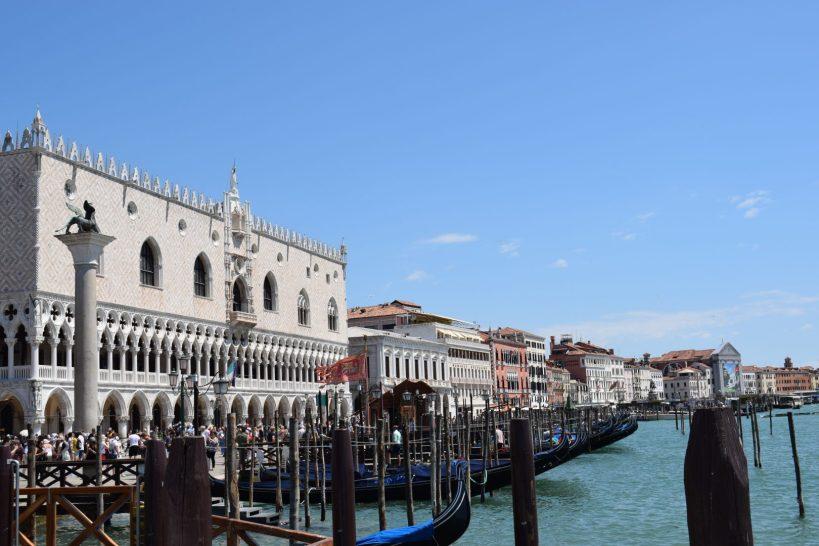 Palacio Ducal, Gran Canal, Venecia (Italia)