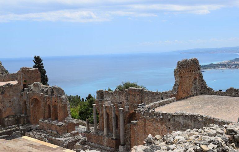Teatro griego, Taormina, Sicilia (Italia)