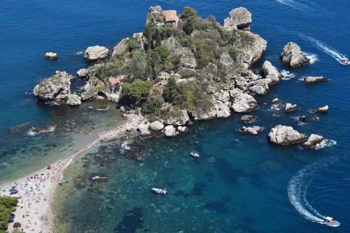 Isola Bella, Taormina, Sicilia (Italia)