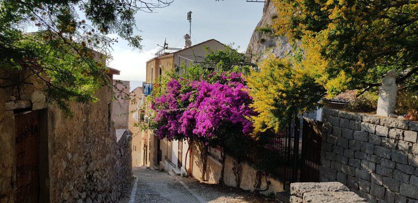 Salita Saraceni, Cefalú, Sicilia (Italia)