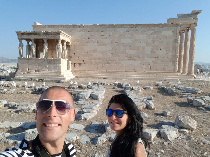 El Erecteión, La Acrópolis, Atenas (Grecia)