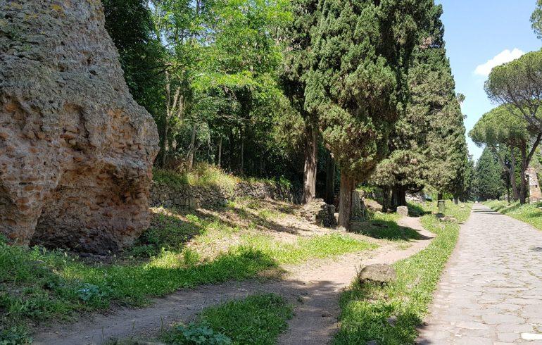 Via Appia Antica, Roma (Italia)