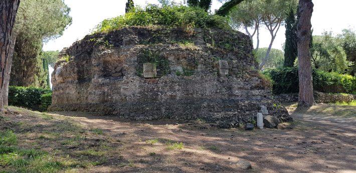 Mausoleo Circular, Via Appia Antica, Roma (Italia)