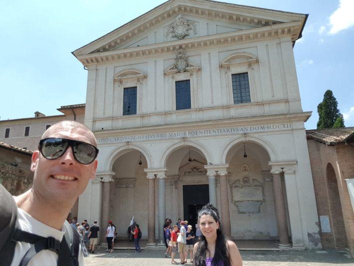 San Sebastián Extramuros, Via Appia Antica, Roma (Italia)