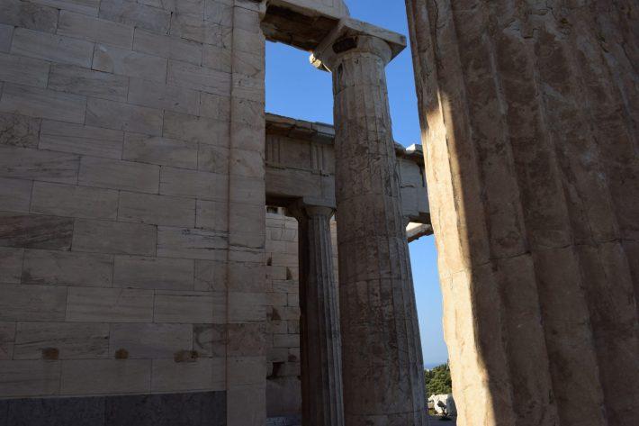 Propíleos, La Acrópolis, Atenas (Grecia)