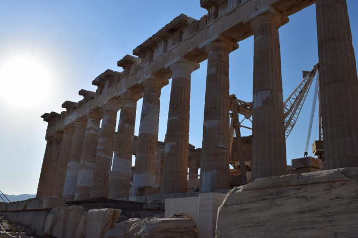El Partenón, La Acrópolis, Atenas (Grecia)