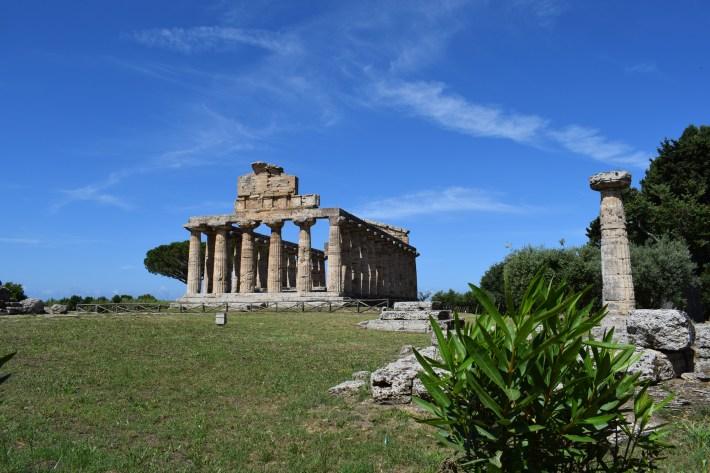 Templo de Atenea, Paestum, Campania (Italia)