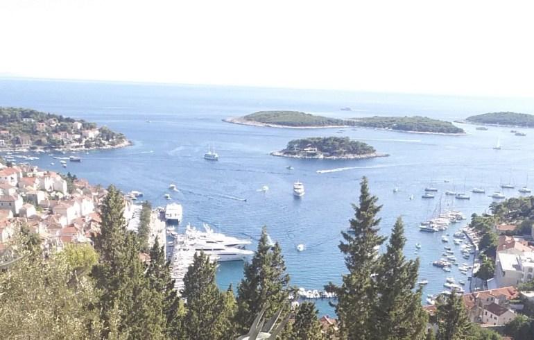 Hvar y las islas Pakleni (Croacia)