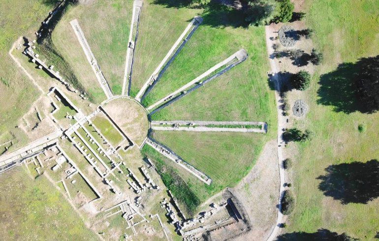 Ancient Elis, Peloponeso (Grecia)