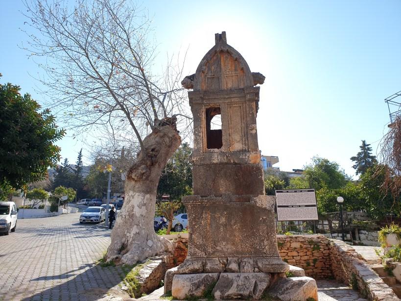 Tumba del rey, Kas (Turquía)