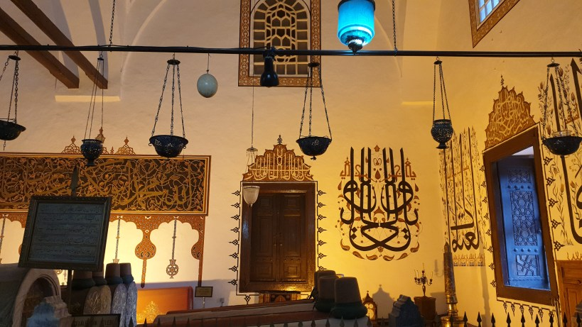 Interior Museo Mevlana, Konya (Turquía)