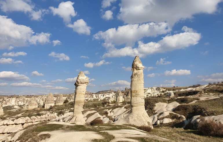 Görkundere Vadisi, Göreme. Capadocia (Turquía)