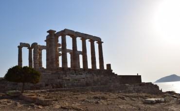 VIDEO: GRECIA DESDE EL AIRE: TEMPLO DE POSEIDÓN, SOUNIO (GRECIA) 4K