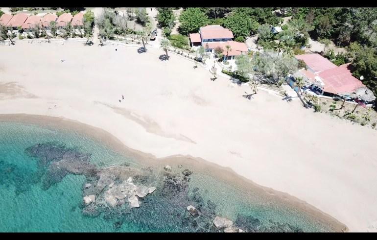 Camping Aginara Beach, Costa Jónica Peloponeso (Grecia)