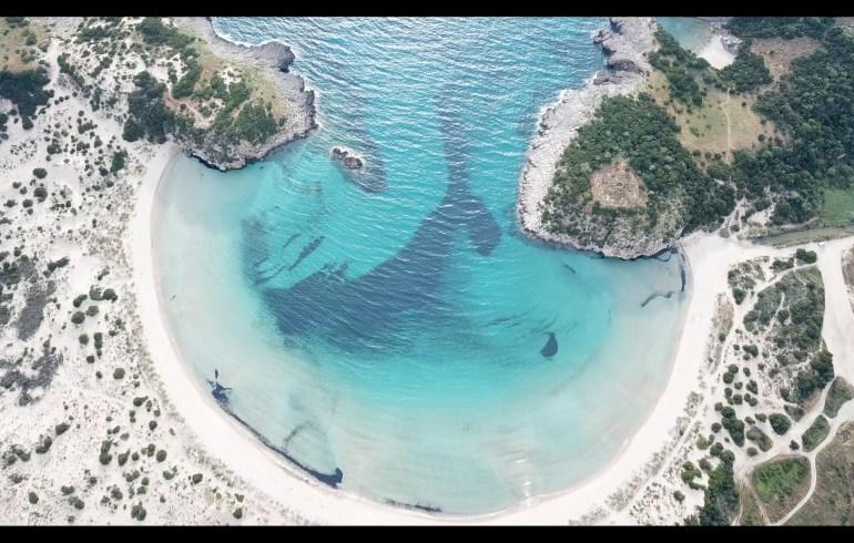 Voidokilia Beach, Costa Navarino, Peloponeso (Grecia)