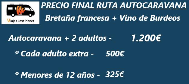 cARTEL bRETAÑA fRANCESA precios