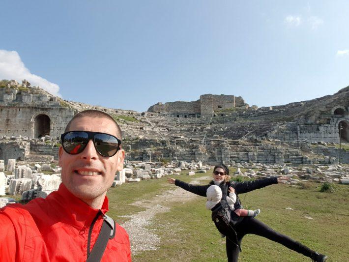 Gran Teatro, Mileto, Turquía