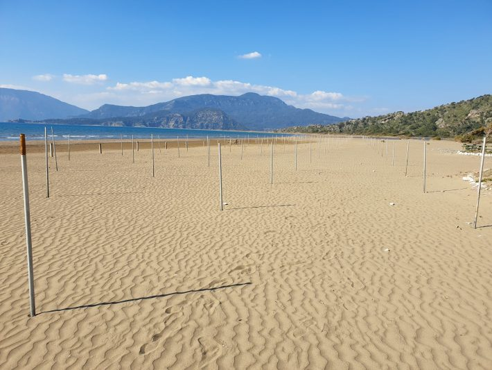 Playa Iztuzu, Dalyan (Turquía)