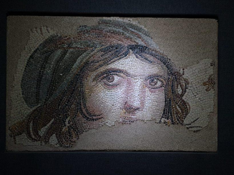 La niña gitana, Museo del Mosaico Zeugma, Gaziantep (Turquía)