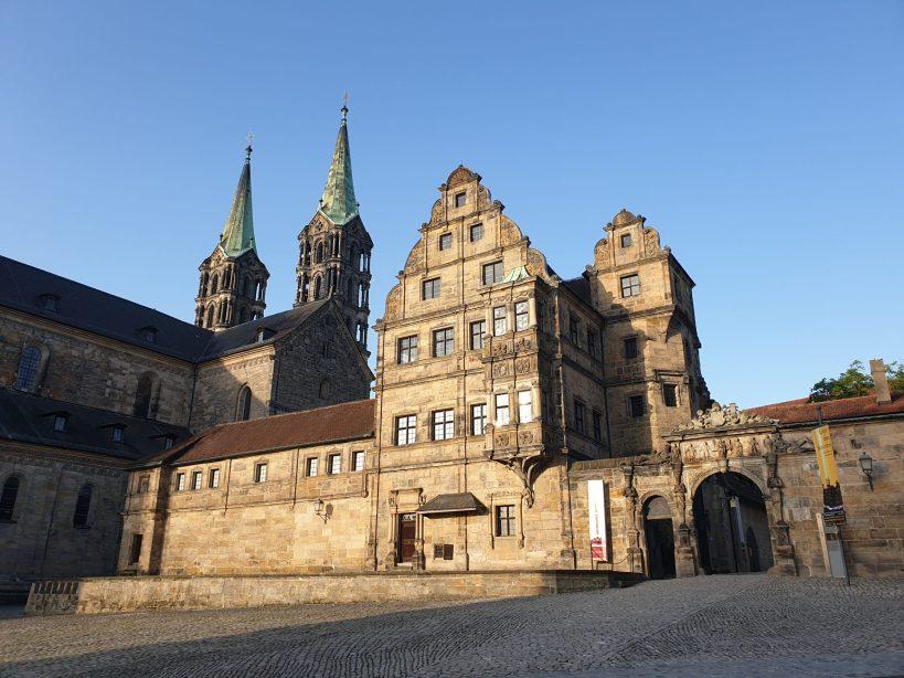 Domplatz, Bamberg (Alemania)